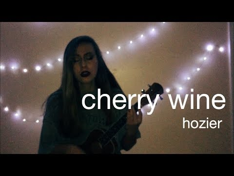 me singing cherry wine by hozier