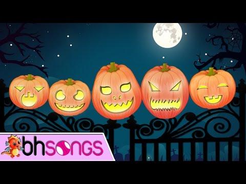 Five Little Pumpkins  Nursery Rhymes  Top Kids Songs  Lyrics Music 4K
