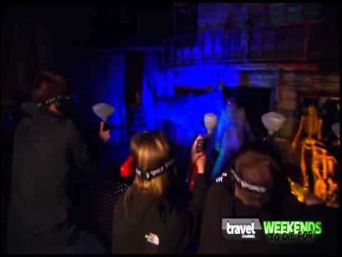 Halloween Most Extreme Haunted Houses Zombie Paintball - Creepyworld