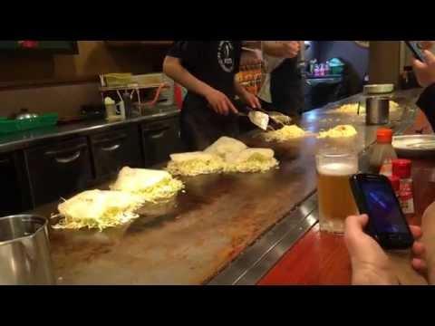 Okonomiyaki nach Hiroshima-Art