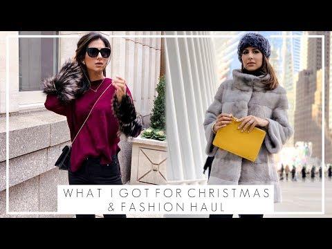 WINTER FASHION HAUL & WHAT I GOT FOR CHRISTMAS | High Street and & Designer Fashion | JASMINA PURI
