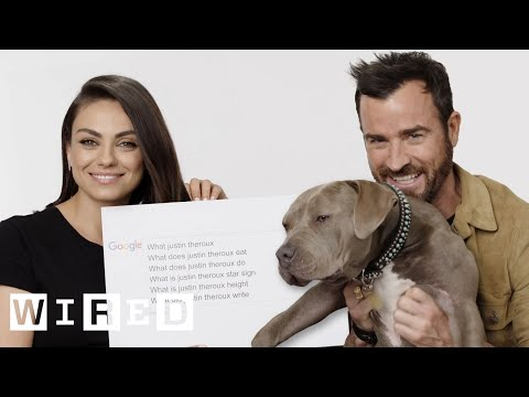 Mila Kunis & Justin Theroux Answer the Web's Most Searched Questions  WIRED