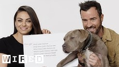 Mila Kunis & Justin Theroux Answer the Web's Most Searched Questions | WIRED