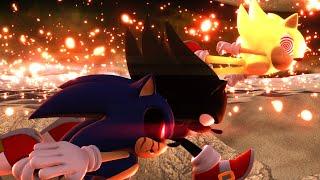 Dark Super Sonic V.S. Sonic.EXE V.S. Fleetway Super Sonic - Part 4 [Animation] ソニック v. ソニック
