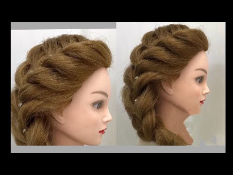 Hairstyless 3 Party Hairstyles With Cardboard Roll Easy Awesome