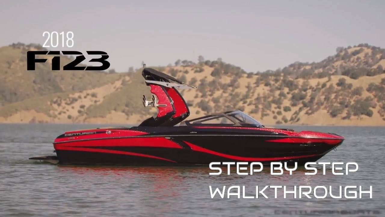 Centurion Boats For Sale >> Centurion Boats 2018 Fi23 Walkthrough Youtube