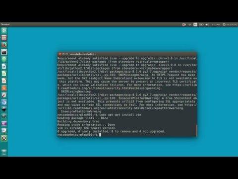 Setup django development environment on ubuntu