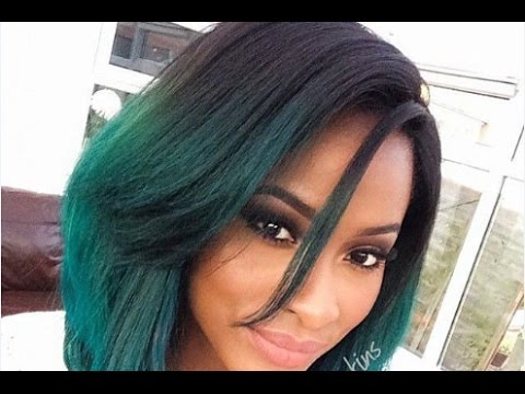 Long Layered Bob Hairstyles for Black Women - YouTube