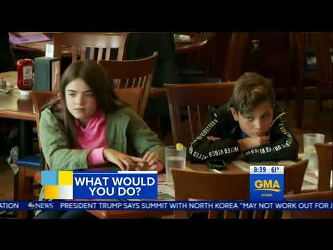 Children were told what to do and what they reacted - GMA