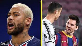 A reação de Neymar por ficado fora dos top 3 da FIFA