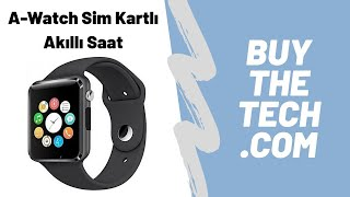 A1 Sim Kartlı Akıllı Saat Tanıtım Videosu - Buythetech.com