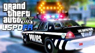 GTA 5 LSPDFR City Patrol with Arrowboards! | GTA 5 POLICE MOD LIVE STREAM