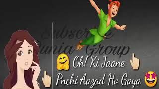 Sochti Hogi Barbad Ho Gaya HO ki jane panchi aazaad Ho Gaya new WhatsApp status