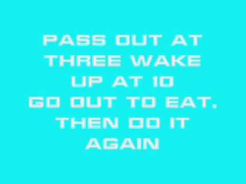 Asher Roth - I Love College w/lyrics