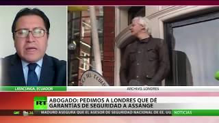 Abogado de Assange: Queremos el documento de Londres que asegura