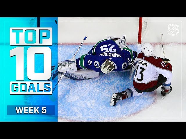 Top 10 Goals from Week 5