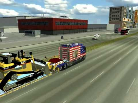 18 wheels of steel haulin parche: