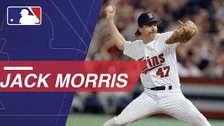 Jack Morris Hall of Famer