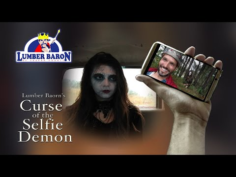Curse of the Selfie Demon -  Lumber Baron Comedy Halloween Special 2017
