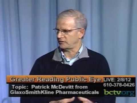 Patrick McDevitt from Scientist with GlaxoSmithKline 2-8-12