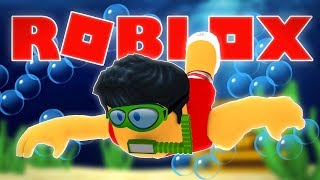 SCUBA DIVING in Roblox!! | Quill Lake