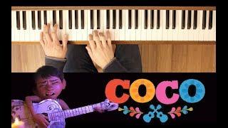 La Llorona (Coco) [Late Easy Piano Tutorial]
