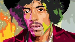 Jimi Hendrix - Instrumental - Castles made of sand. Cover