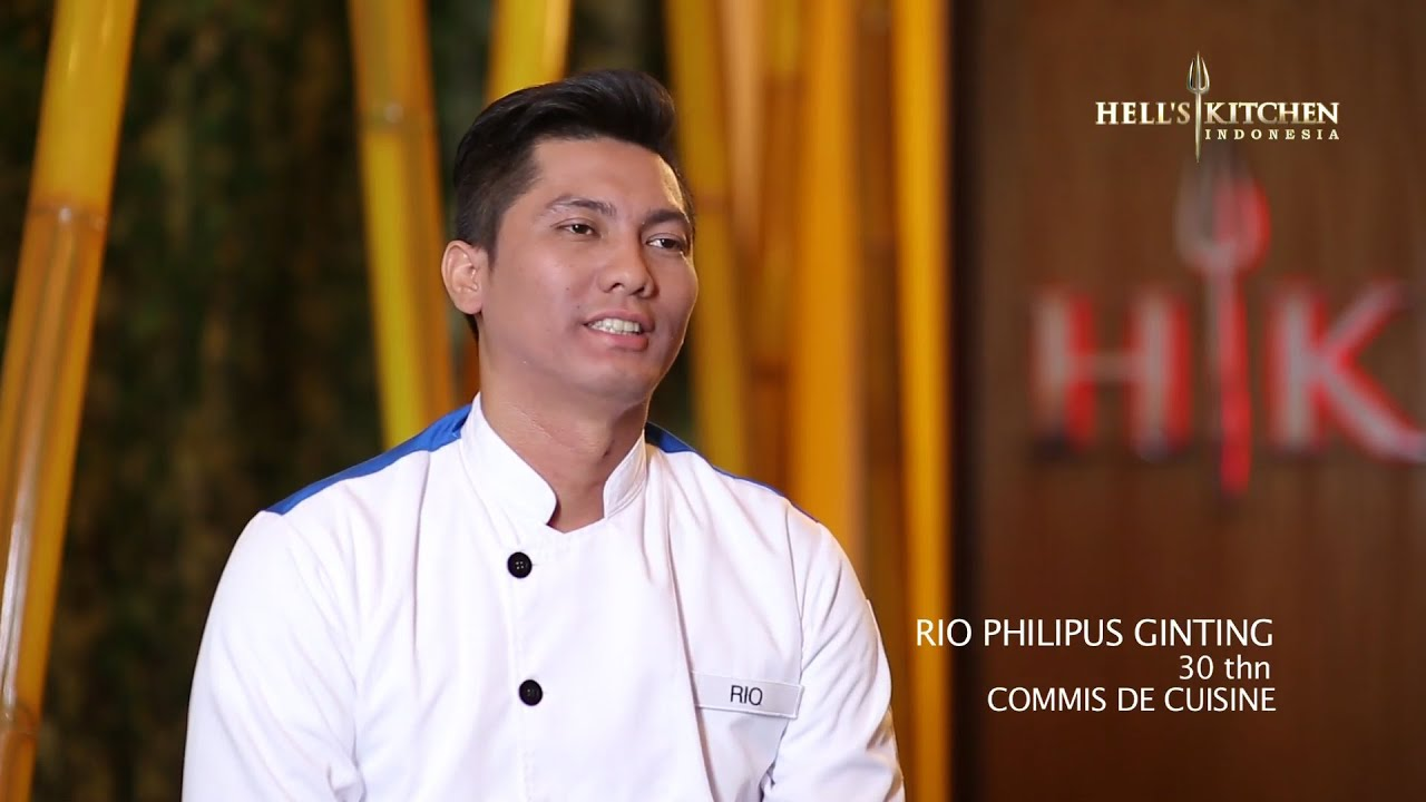 rio - contestant profile - hell's kitchen indonesia - youtube