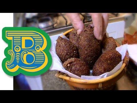 How to make Kibbeh (Kibe) - Brazil