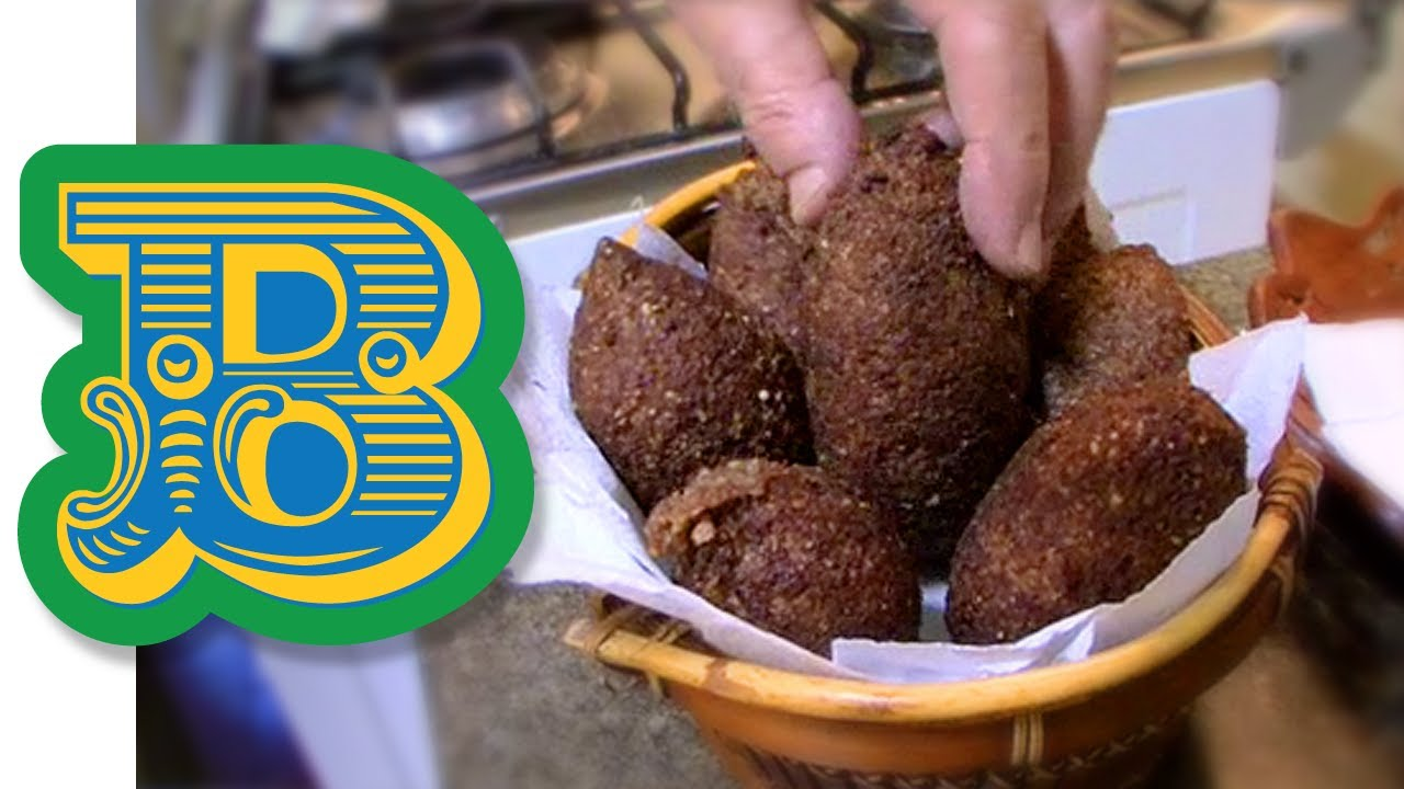 How to make kibbeh kibe brazils popular arab snack youtube forumfinder Image collections