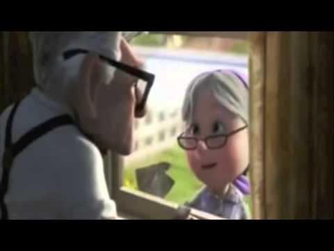 I wanna grow old with you (UP cartoon)