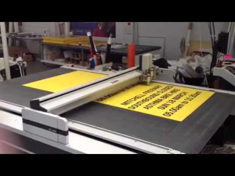 Zund G3 Digital Cutter - YouTube