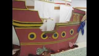 O barco pirata de Infantil. Proxecto O MAR, curso 2012-2013