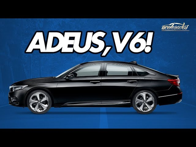 Accord com motor de Civic Type R? Andamos na décima geração do sedanzão da Honda - AceleVlog #66