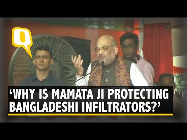 We Are Not Anti-Bengal, But Anti-Mamata: Amit Shah in Kolkata