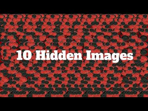 10 Hidden Images - Do you have the magic eye?