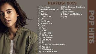 TOP 25 Popular Songs 2019 | Naomi Scott, Mena Massoud, Taylor Swift, Billie Eilish, Ed Sheeran