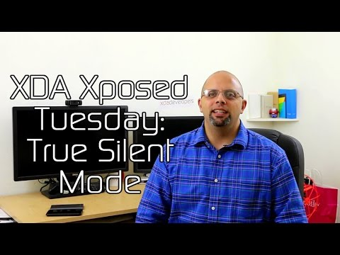 True Silent Mode for Android Lollipop – XDA Xposed Tuesday