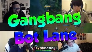 GANGBANG BOT LANE! - League of Legends Funny Stream Moments #19 | JK HighLight