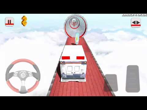 Impossible Ambulance New Vehicle Unlocked Android Gameplay 2017