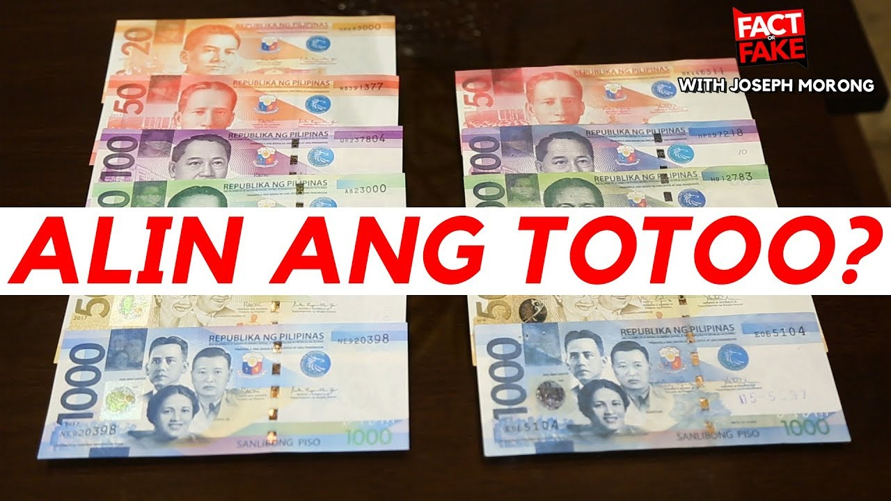 How To Identify Fake Money Philippines