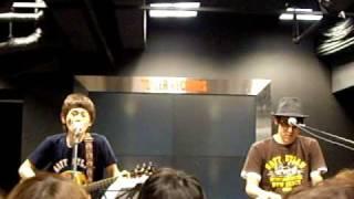 20090222 インストアライブ@タワーレコード福岡 ニューピース.