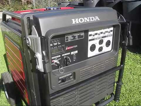 Honda Generator EU6500iS