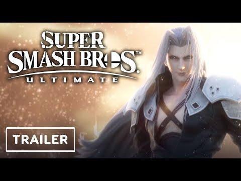 Super Smash Bros. Ultimate - Sephiroth Character Reveal Trailer | Game Awards 2020