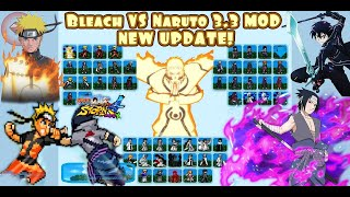 Bleach Vs Naruto 3.3 Mod Mugen Android APK Style [DOWNLOAD]