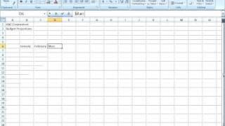 Excel 2007 - Data Entry Techniques