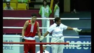 Daniyar Eleusinov vs Islam Mohammad (1-8 finals Guangzhou)