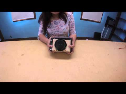 Jenny R - Solar-Powered Speaker Final Video (Main Project)