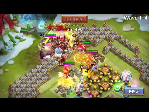Castle Clash How To Beat HBM T TH 23 Base F2P!! New Series!