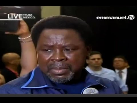 Pastor's Conference With Prophet TB Joshua In Mexico 2015 ...